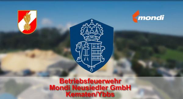Betriebsfeuerwehr – Mondi Neusiedler GmbH Kematen